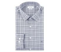 Slim Fit Hemd mit Karomuster