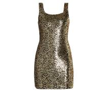 Kleid mit Wende-Pailletten