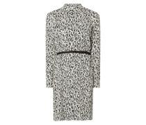 Blusenkleid aus Viskose mit Taillengürtel