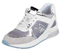 Sneaker 'Running Linda' aus Veloursleder und Mesh