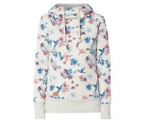 Hoodie mit floralem Muster