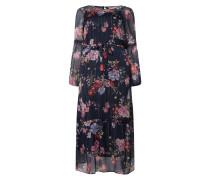 PLUS SIZE Kleid mit Rüschen Modell 'Fie'