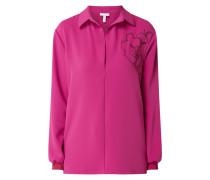 Blusenshirt mit Ziersteinbesatz Modell 'Rosy'