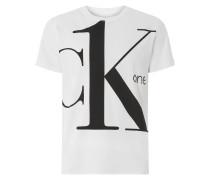 T-Shirt mit Logo-Print 'CK One'