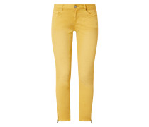 Slim Fit 7/8-Jeans mit Stretch-Anteil Modell 'Italy 7/8'