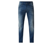 Relaxed Fit Jeans mit Knopfleiste