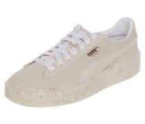 Sneaker 'Suede Platform' aus Veloursleder