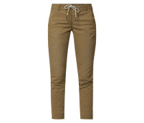 Tapered Fit Jogpants mit Stretch-Anteil