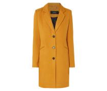 Mantel mit Paspeltaschen