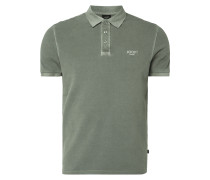 Modern Fit Poloshirt im Washed Out Look