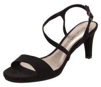 Sandaletten in Velourslederoptik