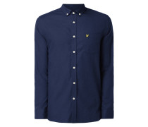 Freizeithemd mit Button-Down-Kragen