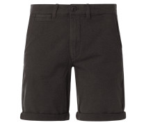 Chino-Shorts mit Stretch-Anteil Modell 'Kenso'