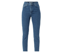 One Washed Mom Fit Jeans