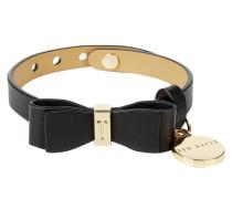 Armband aus Leder mit Zierschleife