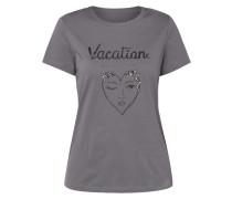 T-Shirt mit Schmuckdetail