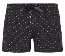 Shorts mit Rautenmuster