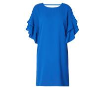 Kleid mit Volantärmeln im Double-Layer-Look
