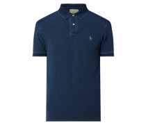 Custom Slim Fit Poloshirt aus Piqué