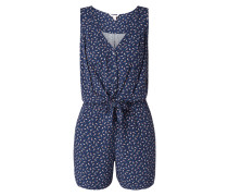 Playsuit mit Allover-Muster