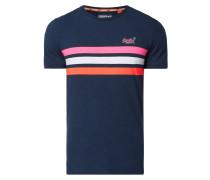 T-Shirt mit Galonstreifen