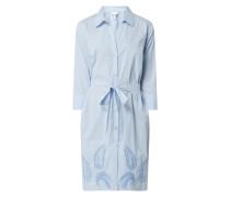 Blusenkleid mit Taillengürtel Modell 'Banoi'