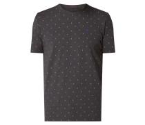 T-Shirt aus Baumwoll-Elasthan-Mix