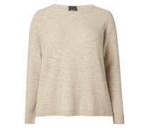 PLUS SIZE - Pullover mit Pailletten-Besatz