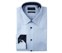 Modern Fit Business-Hemd mit 2-Knopf-Manschetten
