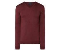 Pullover aus extrafeiner Merinowolle