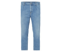 Rinsed Washed Regular Tapered Fit Jeans
