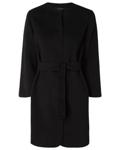 Mantel aus Wollfilz mit 7/8-Arm