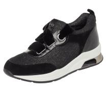Sneaker 'Karlie 06' aus Leder und Effektgarn