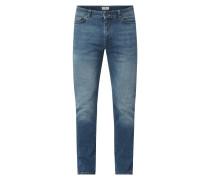 Slim Fit Jeans mit Stretch-Anteil Modell 'Matt'