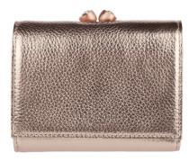 Geldbörse aus Leder mit Überschlag