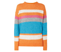 Pullover mit Stehkragen