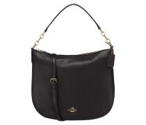 Hobo Bag aus Leder mit Kettendetails