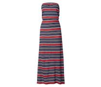 Bandeau-Kleid mit Knotendetail
