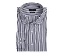 Regular Fit Business-Hemd aus Baumwolle Modell 'Gordon'