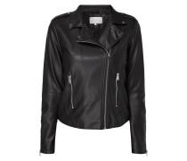 Biker-Jacke mit Zip-Details