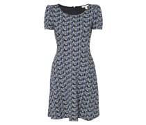 Jerseykleid mit abstraktem Muster