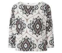 Pullover mit ornamentalem Muster