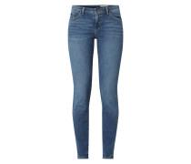 Low Rise Skinny Fit Jeans aus Bio-Baumwollmischung
