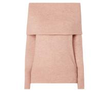 Pullover mit Oversized Rollkragen