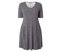 PLUS SIZE - Kleid mit Allover-Muster