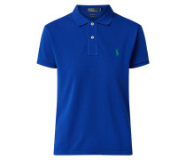 Classic Fit Poloshirt aus recyceltem Polyester