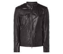 Biker-Jacke aus Lammleder