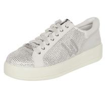 Sneaker 'Kim 07' aus Leder mit Ziersteinen