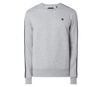 Sweatshirt aus Baumwolle und recyceltem Polyester Modell 'Alchesai'