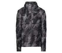 Jacke mit Camouflage-Muster - wattiert